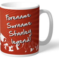 Personalised Accrington Stanley Legend Mug