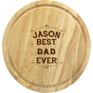 Personalised Best Ever Chopping Board