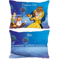 Personalised Disney Beauty And The Beast Balcony Scene Rectangle Cushion - 45x30cm