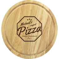 Personalised Quality Guaranteed Wooden Pizza Board