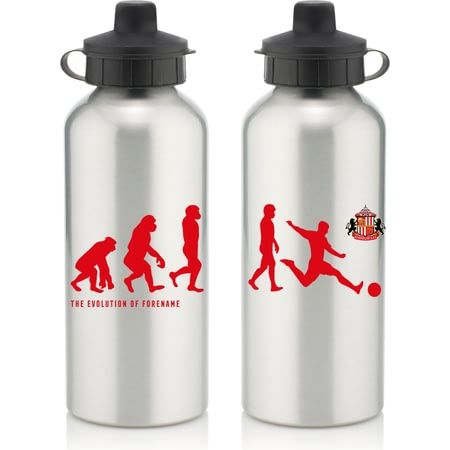 Personalised Sunderland AFC Player Evolution Aluminium Sports Water Bottle