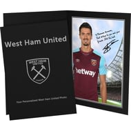 Personalised West Ham United FC Fonte Autograph Photo Folder