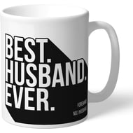 Personalised Derby County Best Husband Ever Mug