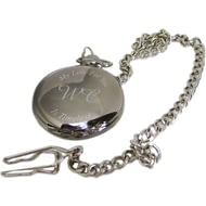Personalised My Love For You Is Timeless Pocket Watch & Tin