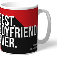 Personalised Southampton Best Boyfriend Ever Mug