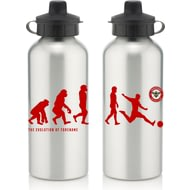Personalised Brentford Player Evolution Aluminium Sports Water Bottle