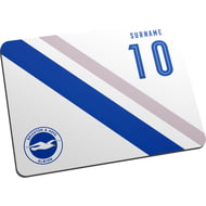 Personalised Brighton & Hove Albion FC Stripe Mouse Mat