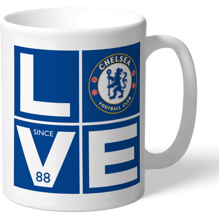 Personalised Chelsea FC Love Mug