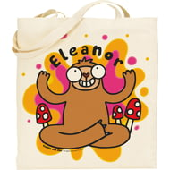 Personalised Groovy Sloth Tote Bag