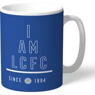 Personalised Leicester City I Am Mug