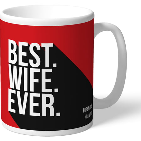 Personalised Southampton Best Wife Ever Mug