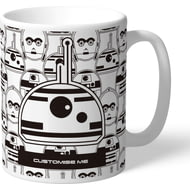 Personalised Star Wars BB8 Icon Mug