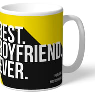 Personalised Watford Best Boyfriend Ever Mug