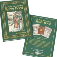 Personalised Robin Hood Novel Book