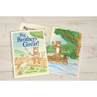 Personalised Big Brothers Are Great Childrens Story Book
