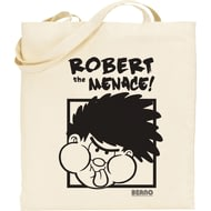 Personalised Beano Big Heads Dennis Tote Bag