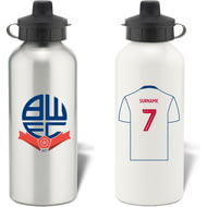 Personalised Bolton Wanderers FC Aluminium Water Bottle