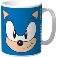 Personalised Classic Sonic The Hedgehog Face Mug
