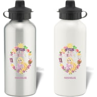 Personalised Disney Princess True Rapunzel Aluminium Water Bottle