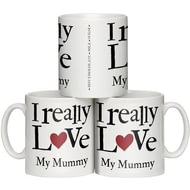 Personalised I Really Love …… Personalised Ceramic Mug