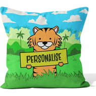 Personalised Kids Tiger Cushion