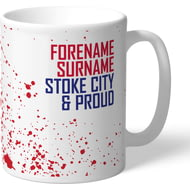 Personalised Stoke City FC Proud Mug