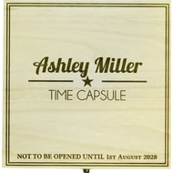 Personalised Time Capsule Hinged Wooden Memory Box