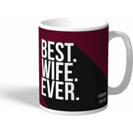 Personalised West Ham United Best Wife Ever Mug