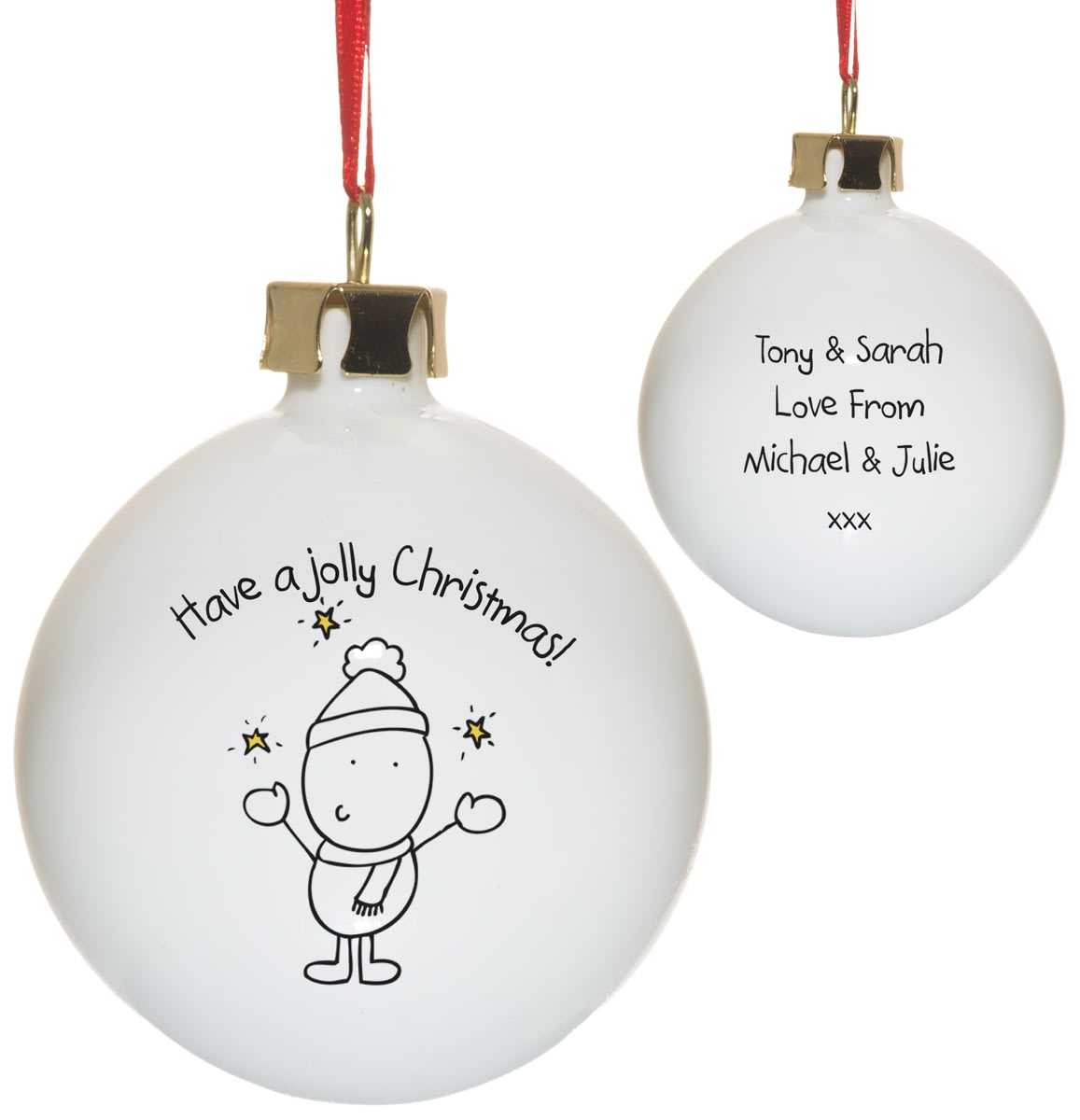 🎁Buy your Personalised Chilli & Bubble\'s Jolly Christmas Tree ...