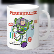 Personalised Toy Story 4 Buzz Vintage Ceramic Mug