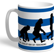 Personalised Queens Park Rangers FC Evolution Mug
