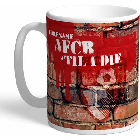 Personalised AFC Bournemouth 'Til I Die Mug