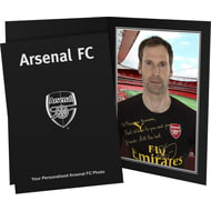 Personalised Arsenal FC Cech Autograph Photo Folder