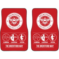 Personalised Brentford FC Way Front Car Mats