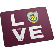 Personalised Burnley FC Love Mouse Mat