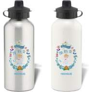 Personalised Disney Princess True Cinderella Aluminium Water Bottle