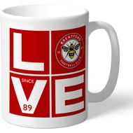 Personalised Brentford Love Mug