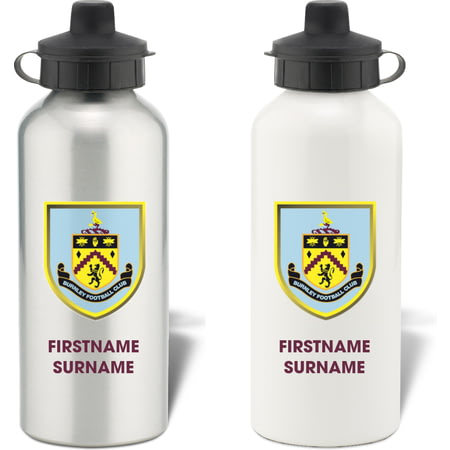 Personalised Burnley FC Bold Crest Water Bottle