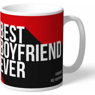 Personalised Manchester United Best Boyfriend Ever Mug