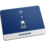 Personalised Millwall Player Figure Mouse Mat