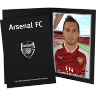 Personalised Arsenal FC Cazorla Autograph Photo Folder