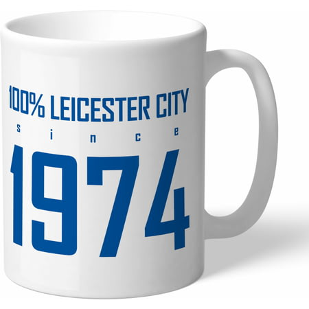 Personalised Leicester City FC 100 Percent Mug