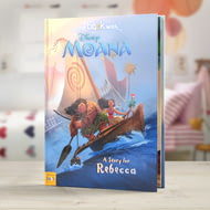 Personalised Disneys Moana Story Book