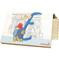 Personalised Paddington Bear Initial Memory Box