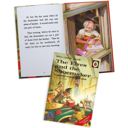 Personalised The Elves And The Shoemaker Classic Ladybird Book