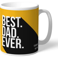 Personalised Wolves FC Best Dad Ever Mug