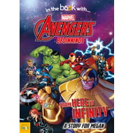 Personalised Avengers Beginnings From Here To Infinity Story Book