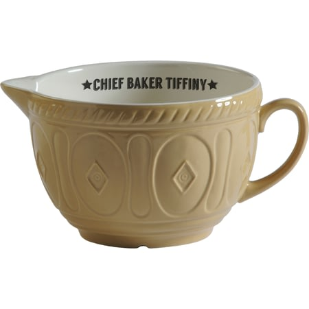 Personalised Chief Baker Jug