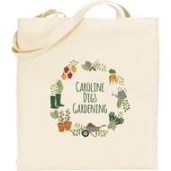 Personalised Digs Gardening Tote Bag
