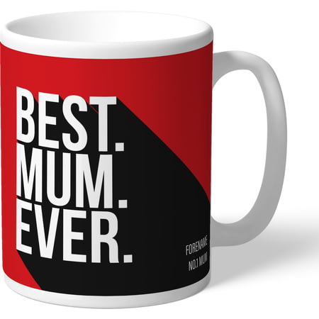 Personalised Southampton Best Mum Ever Mug